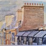Les toits de Paris par Nelson Carmenate