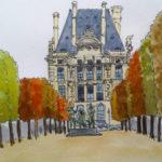 Le Louvre par Anne-Laure Chapelain