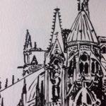 Chevet de Notre Dame par Anne-Laure Chapelain