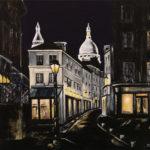 La rue Norvins par Dagmar Gerlach