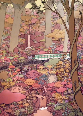 dessin metro paris