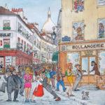 Le Consulat rue Norvins par Gérard Chevalier