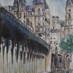 Pont de Bir-Hakeim par Ann Abel Iseux
