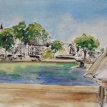 Jardin du Luxembourg par Ann Abel Iseux