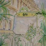 Métro île de la Cité. par Ann Abel Iseux