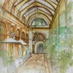 Aquarelle Galerie Vivienne par Martine Moisan