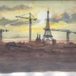 Vue de Beaubourg par Catherine et Antoine