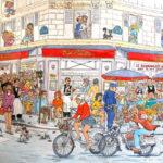 Café Varenne par Gérard Chevalier