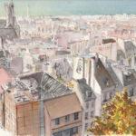 Depuis Beaubourg par Catherine et Antoine