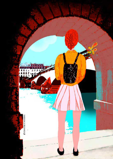 pont royal illustration