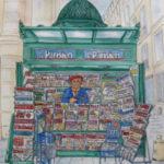 Kiosque parisien par Gérard Chevalier