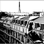 Toits de Paris par Thumbnailed the life