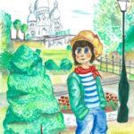 Le Poulbot à Montmartre par Willy et Emily Marceau