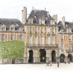 Place des Vosges par Sophie Rocher