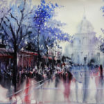 Peinture de la Sorbonne par Alex Lanser