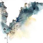 Rue parisienne par Alex Lanser