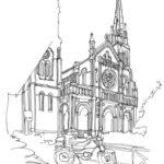 Eglise Saint Ambroise par Patrice Rambaud