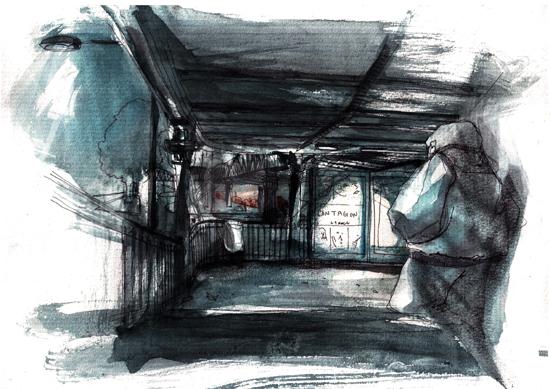 croquis metro