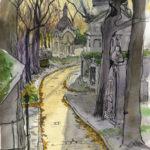 Les allées du Père Lachaise par Justine Gasquet