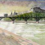 Pont des arts par Justine Gasquet