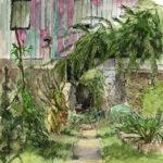 Potager du jardin des Plantes par Justine Gasquet