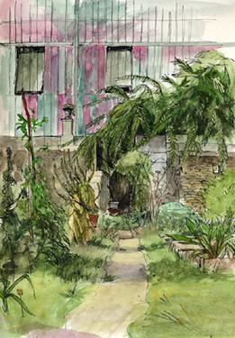 croquis jardin des plantes