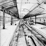 Gare de l'Est par Justine Gasquet