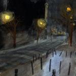 Conciergerie la nuit par Justine Gasquet