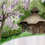 Lilas au jardin des plantes par Justine Gasquet