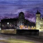 Quai la nuit par Justine Gasquet