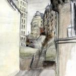 Escaliers de Montmartre par Justine Gasquet