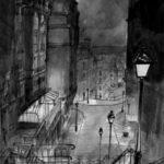 Rue du Mont-Cenis par Justine Gasquet