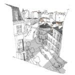 Rue des Abbesses par Patrice Rambaud