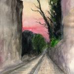 Soir à Montmartre par Justine Gasquet