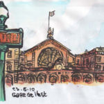 Gare de l'Est par Jérôme Agostini