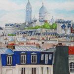 Montmartre et le Sacré Coeur par Julien Dugué