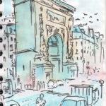 Porte Saint-Denis par Jérôme Agostini