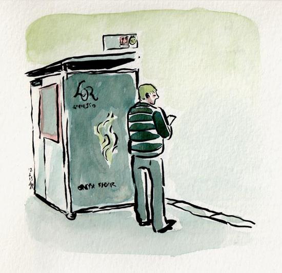 dessin bus paris