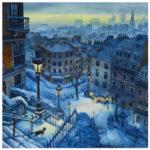 Illustration rue Utrillo par Jean-Martial Dubois