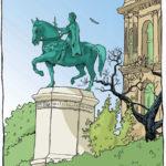 Statue d'Etienne Marcel par Julien Dugué