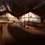 Gare du Nord par Jacques Caspar