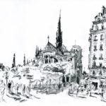 Chevet de Notre Dame par Jacques Caspar
