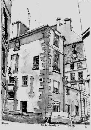 dessin rue thorigny